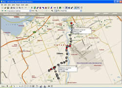 GPSDataView MapPoint