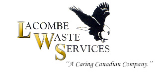 Lacombe Waste Services Logo